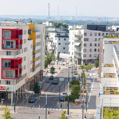 (c) Einkaufsstraße aspern Seestadt, Ludwig Schedl